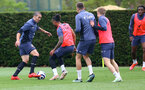 SOUTHAMPTON, ENGLAND - MAY 21: Oriol Romeu during a Southampton FC training session at the Staplewood Campus on May 21, 2021 in Southampton, England. (Photo by Matt Watson/Southampton FC via Getty Images)