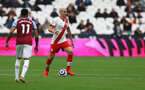 LONDON, ENGLAND - MAY 23: Oriol Romeu of Southampton during the Premier League match between West Ham United and Southampton at London Stadium on May 23, 2021 in London, England. (Photo by Matt Watson/Southampton FC via Getty Images)