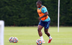 SOUTHAMPTON, ENGLAND - JULY 13: Michael Obafemi during pre-season training session at Staplewood Complex on July 13, 2021 in Southampton, England. (Photo by Isabelle Field/Southampton FC via Getty Images)