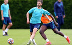 SOUTHAMPTON, ENGLAND - JULY 13: Shane Long during pre-season training session at Staplewood Complex on July 13, 2021 in Southampton, England. (Photo by Isabelle Field/Southampton FC via Getty Images)