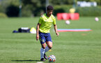 SOUTHAMPTON, ENGLAND - July 14:  Joshua Squires during Southampton U18s per season training session at Staplewood training ground on July 14, 2021 in Southampton, England. (Photo by Isabelle Field/Southampton FC via Getty Images)