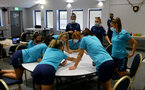 SOUTHAMPTON, ENGLAND - July 18: during Southampton Women team building activity around Southampton City Center on July 18, 2021 in Southampton, England. (Photo by Isabelle Field/Southampton FC via Getty Images)
