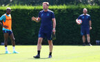 SOUTHAMPTON, ENGLAND - JULY 19: Southampton manager Ralph Hasenhüttl during a Southampton FC pre season training session at the Staplewood Campus on July 19, 2021 in Southampton, England. (Photo by Matt Watson/Southampton FC via Getty Images)