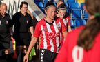 SOUTHAMPTON, ENGLAND - July 20: Kirsty Whitton of Southampton during per-season friendly between Saints Women and Southampton Women Development team at The Snows Stadium on July 20, 2021 in Southampton, England. (Photo by Isabelle Field/Southampton FC via Getty Images)