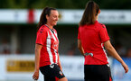 SOUTHAMPTON, ENGLAND - July 20: Leeta Rutherford of Southampton during per-season friendly between Saints Women and Southampton Women Development team at The Snows Stadium on July 20, 2021 in Southampton, England. (Photo by Isabelle Field/Southampton FC via Getty Images)