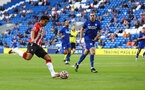 CARDIFF, WALES - JULY 27: Che Adams of Southampton during the Pre-Season Friendly match between Cardiff City and Southampton at Cardiff City Stadium on July 27, 2021 in Cardiff, Wales. Photo by Matt Watson/Southampton FC via Getty Images