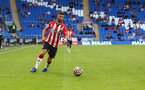 CARDIFF, WALES - JULY 27: Shane Long of during the Pre-Season Friendly match between Cardiff City and Southampton at Cardiff City Stadium on July 27, 2021 in Cardiff, Wales. Photo by Matt Watson/Southampton FC via Getty Images
