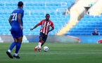 CARDIFF, WALES - JULY 27: Ibrahima Diallo of Southampton during the Pre-Season Friendly match between Cardiff City and Southampton at Cardiff City Stadium on July 27, 2021 in Cardiff, Wales. Photo by Matt Watson/Southampton FC via Getty Images