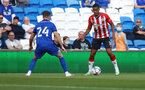 CARDIFF, WALES - JULY 27: Yan Valery of Southampton  during the Pre-Season Friendly match between Cardiff City and Southampton at Cardiff City Stadium on July 27, 2021 in Cardiff, Wales. Photo by Matt Watson/Southampton FC via Getty Images