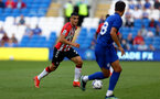 CARDIFF, WALES - JULY 27: Mohamed Elyounoussi of Southampton during the Pre-Season Friendly match between Cardiff City and Southampton at Cardiff City Stadium on July 27, 2021 in Cardiff, Wales. Photo by Matt Watson/Southampton FC via Getty Images