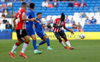 CARDIFF, WALES - JULY 27: Mohammed Salisu of Southampton during the Pre-Season Friendly match between Cardiff City and Southampton at Cardiff City Stadium on July 27, 2021 in Cardiff, Wales. Photo by Matt Watson/Southampton FC via Getty Images