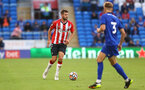CARDIFF, WALES - JULY 27: Jack Stephens of Southampton during the Pre-Season Friendly match between Cardiff City and Southampton at Cardiff City Stadium on July 27, 2021 in Cardiff, Wales. Photo by Matt Watson/Southampton FC via Getty Images