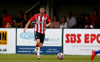 SOUTHAMPTON, ENGLAND - July 27: Will Ferry of Southampton during pre season friendly between AFC Totton and Southampton B Team at Snows Stadium on July 27, 2021 in Southampton, England. (Photo by Isabelle Field/Southampton FC via Getty Images)