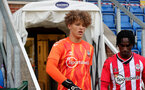 SOUTHAMPTON, ENGLAND - July 27: Matt Hall of Southampton during pre season friendly between AFC Totton and Southampton B Team at Snows Stadium on July 27, 2021 in Southampton, England. (Photo by Isabelle Field/Southampton FC via Getty Images)