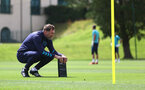CARDIFF, WALES - JULY 29: Southampton manager Ralph Hasenhüttl during a Southampton FC pre season training session at the Vale Resort, Vale of Glamorgan on July 29, 2021 in Cardiff, Wales. (Photo by Matt Watson/Southampton FC via Getty Images)