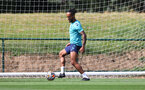 CARDIFF, WALES - JULY 29: Theo Walcott during a Southampton FC pre season training session at the Vale Resort, Vale of Glamorgan on July 29, 2021 in Cardiff, Wales. (Photo by Matt Watson/Southampton FC via Getty Images)