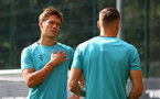 SOUTHAMPTON, ENGLAND - AUGUST 03: Jannik Vestergaard during a Southampton FC pre season training session at the Staplewood Campus on August 03, 2021 in Southampton, England. (Photo by Matt Watson/Southampton FC via Getty Images)