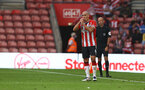 SOUTHAMPTON, ENGLAND - AUGUST 07: Oriol Romeu of Southampton takes on an energy gel during the pre season friendly match between Southampton FC and Athletic Club at St Mary's Stadium on August 07, 2021 in Southampton, England. (Photo by Matt Watson/Southampton FC via Getty Images)