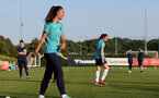 SOUTHAMPTON, ENGLAND - AUGUST 10: Laura Rafferty during Southampton women's pre season training session at Staplewood Training Ground on August 10, 2021 in Southampton, England. (Photo by Isabelle Field/Southampton FC via Getty Images)