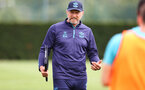 SOUTHAMPTON, ENGLAND - AUGUST 17: Southampton manager Ralph Hasenhüttl during a Southampton FC training session at Staplewood Campus on August 17, 2021 in Southampton, England. (Photo by Matt Watson/Southampton FC via Getty Images)
