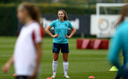 SOUTHAMPTON, ENGLAND - AUGUST 17: Ella Morris during Southampton Women's training session at  Staplewood Training Ground on August 17, 2021 in Southampton, England. (Photo by Isabelle Field/Southampton FC via Getty Images)