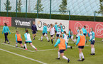 SOUTHAMPTON, ENGLAND - AUGUST 17: Southampton players during Southampton Women's training session at  Staplewood Training Ground on August 17, 2021 in Southampton, England. (Photo by Isabelle Field/Southampton FC via Getty Images)