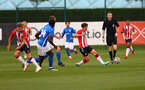 SOUTHAMPTON, ENGLAND - AUGUST 21: during the U18 PL match between Southampton FC U18 and Birmingham City U18, at the Staplewood Campus on August 21, 2021 in Southampton, England. (Photo by Matt Watson/Southampton FC)