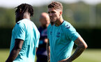 SOUTHAMPTON, ENGLAND - AUGUST 26: during a Southampton FC training session at the Staplewood Campus on August 26, 2021 in Southampton, England. (Photo by Matt Watson/Southampton FC via Getty Images)