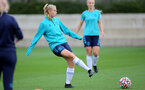 SOUTHAMPTON, ENGLAND - AUGUST 31: Catilin Morris during Southampton Women's training session at  Staplewood Training Ground on August 31, 2021 in Southampton, England. (Photo by Isabelle Field/Southampton FC via Getty Images)