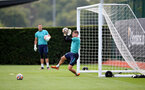 SOUTHAMPTON, ENGLAND - SEPTEMBER 01: Harry Lewis during Southampton training session at Staplewood Complex on September 01, 2021 in Southampton, England. (Photo by Isabelle Field/Southampton FC via Getty Images)