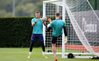 SOUTHAMPTON, ENGLAND - SEPTEMBER 01: Fraser Forster during Southampton training session at Staplewood Complex on September 01, 2021 in Southampton, England. (Photo by Isabelle Field/Southampton FC via Getty Images)