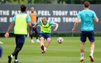 SOUTHAMPTON, ENGLAND - SEPTEMBER 01: James Ward-Prowse during Southampton training session at Staplewood Complex on September 01, 2021 in Southampton, England. (Photo by Isabelle Field/Southampton FC via Getty Images)