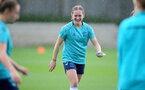 SOUTHAMPTON, ENGLAND - SEPTEMBER 08: Lucia Kendall during Southampton Women's training at Staplewood Training Ground on September 08, 2021 in Southampton, England. (Photo by Isabelle Field/Southampton FC via Getty Images)