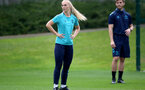SOUTHAMPTON, ENGLAND - SEPTEMBER 08: Rosie Parnell during Southampton Women's training at Staplewood Training Ground on September 08, 2021 in Southampton, England. (Photo by Isabelle Field/Southampton FC via Getty Images)