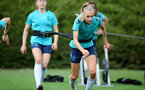 SOUTHAMPTON, ENGLAND - SEPTEMBER 08: Phoebe Williams during Southampton Women's training at Staplewood Training Ground on September 08, 2021 in Southampton, England. (Photo by Isabelle Field/Southampton FC via Getty Images)