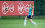 SOUTHAMPTON, ENGLAND - SEPTEMBER 08: Georgie Freeland during Southampton Women's training at Staplewood Training Ground on September 08, 2021 in Southampton, England. (Photo by Isabelle Field/Southampton FC via Getty Images)