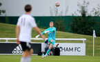NEW MALDEN, ENGLAND - SEPTEMBER 10: Jack Bycroft of Southampton during Premier League 2, Division 2 match between Fulham and Southampton B Team at Fulham FC Training Ground on September 10, 2021 in New Malden, England. (Photo by Isabelle Field/Southampton FC via Getty Images)