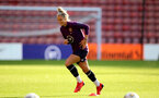 SOUTHAMPTON, ENGLAND - SEPTEMBER 16: Rachel Daly during England Women's training session at St Mary's Stadium on September 16, 2021 in Southampton, England. (Photo by Isabelle Field/Southampton FC via Getty Images)