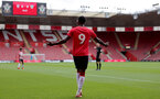 SOUTHAMPTON, ENGLAND - SEPTEMBER 19: Remello Mitchell of Southampton during the Premier League 2 match between Southampton B Team and Burnley at St Mary's Stadium on September 19, 2021 in Southampton, England. (Photo by Isabelle Field/Southampton FC via Getty Images)