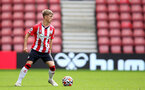 SOUTHAMPTON, ENGLAND - SEPTEMBER 19: Lewis Payne of Southampton during the Premier League 2 match between Southampton B Team and Burnley at St Mary's Stadium on September 19, 2021 in Southampton, England. (Photo by Isabelle Field/Southampton FC via Getty Images)