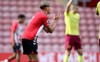 SOUTHAMPTON, ENGLAND - SEPTEMBER 19: Dominic Ballard of Southampton during the Premier League 2 match between Southampton B Team and Burnley at St Mary's Stadium on September 19, 2021 in Southampton, England. (Photo by Isabelle Field/Southampton FC via Getty Images)