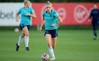 SOUTHAMPTON, ENGLAND - SEPTEMBER 22: Phoebe Williams during Southampton Women's training at Staplewood Training Ground on September 22, 2021 in Southampton, England. (Photo by Isabelle Field/Southampton FC via Getty Images)