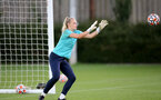 SOUTHAMPTON, ENGLAND - SEPTEMBER 22: Kayla Rendell during Southampton Women's training at Staplewood Training Ground on September 22, 2021 in Southampton, England. (Photo by Isabelle Field/Southampton FC via Getty Images)
