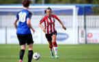 CHELTENHAM, ENGLAND - SEPTEMBER 26: Laura Rafferty of Southampton during the FA National League Southern Premier match between   Southampton Women and London Bees at The Snows Stadium on September 26, 2021 in  Cheltenham, England. (Photo by Isabelle Field/Southampton FC via Getty Images)
