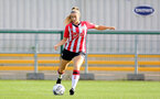 CHELTENHAM, ENGLAND - SEPTEMBER 26: Caitlin Morris of Southampton during the FA National League Southern Premier match between   Southampton Women and London Bees at The Snows Stadium on September 26, 2021 in  Cheltenham, England. (Photo by Isabelle Field/Southampton FC via Getty Images)