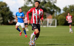BIRMINGHAM, ENGLAND - SEPTEMBER 27: Jayden Smith of Southampton during the Premier League 2 match between Birmingham City and Southampton B Team at Wast Hills Training Ground on September 27, 2021 in Birmingham , England. (Photo by Isabelle Field/Southampton FC via Getty Images)
