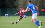 BIRMINGHAM, ENGLAND - SEPTEMBER 27: Lewis Payne of Southampton during the Premier League 2 match between Birmingham City and Southampton B Team at Wast Hills Training Ground on September 27, 2021 in Birmingham , England. (Photo by Isabelle Field/Southampton FC via Getty Images)