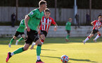 SOUTHAMPTON, ENGLAND - OCTOBER 01: Dominic Ballard of Southampton during the Premier League 2 match between Southampton B Team and Stoke City at Staplewood Training Ground on October 01, 2021 in Southampton, England. (Photo by Isabelle Field/Southampton FC via Getty Images)