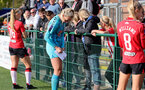 SOUTHAMPTON, ENGLAND - OCTOBER 03:  Kayla Rendell of Southampton during the FA National League Southern Premier match between Southampton Women and Keynsham Town at The Snows Stadium on October 03, 2021 in Southampton, England. (Photo by Isabelle Field/Southampton FC via Getty Images)