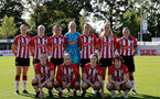 SOUTHAMPTON, ENGLAND - OCTOBER 03: Southampton players during the FA National League Southern Premier match between Southampton Women and Keynsham Town at The Snows Stadium on October 03, 2021 in Southampton, England. (Photo by Isabelle Field/Southampton FC via Getty Images)